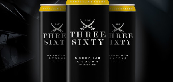 three sixty vodka maracuja