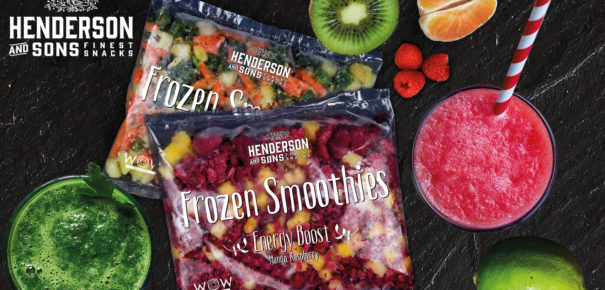 HENDERSON AND SONS Frozen Smoothies