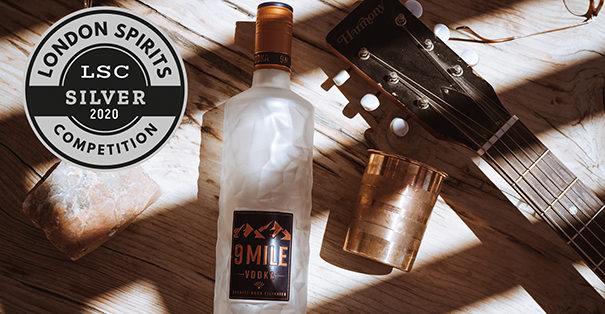 9 MILE Vodka LSC 2020 Silber