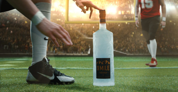 9 MILE Vodka Super Bowl 2021